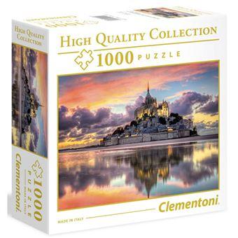 Puzzle Magnifique Mont St. Michel - 1000 Peças - Clementoni