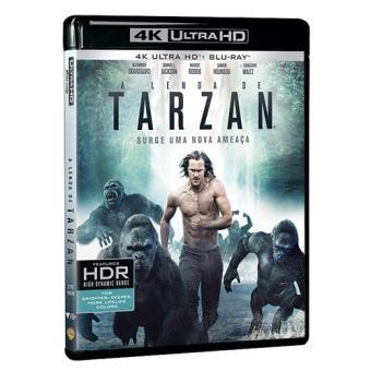 A Lenda de Tarzan (4K Ultra HD + Blu-ray)