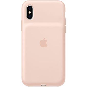 Capa Smart Battery Apple para iPhone XS - Rosa Areia