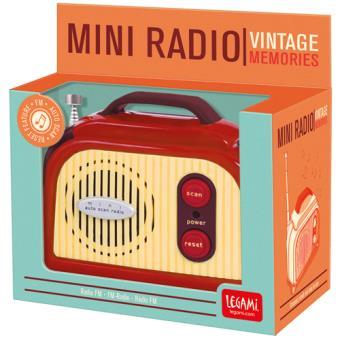 Mini Rádio FM Portátil