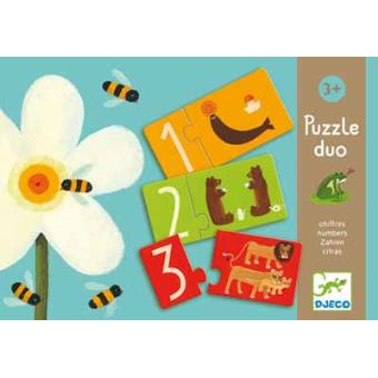 Puzzle Duo - Números