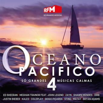 Várioscompilações Oceano Pacifico 4 Cd álbum Compra Música Na