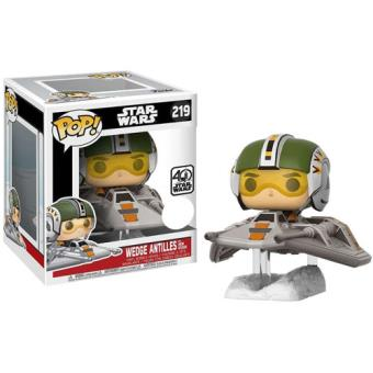 Funko Pop! Star Wars: Wedge Antilles with Snow Speeder - 219