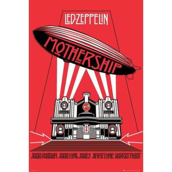 Poster Led Zeppelin Mothership
