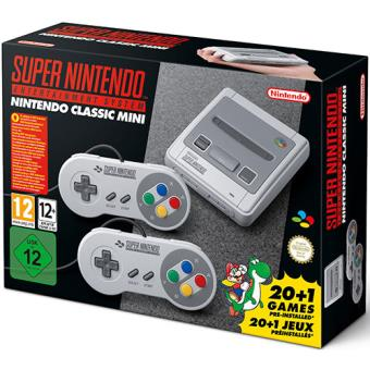 Consola Nintendo Classic Mini: Super Nintendo Entertainment System (SNES)