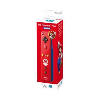 Wii / Wii U Remote Plus  - Edição Especial Mario