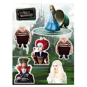 Alice in Wonderland - Pack Ímans Set B