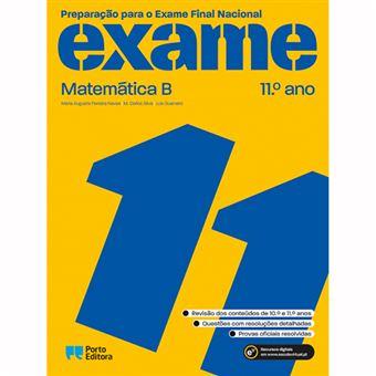 Preparação para o Exame Nacional - Matemática B - 11º Ano