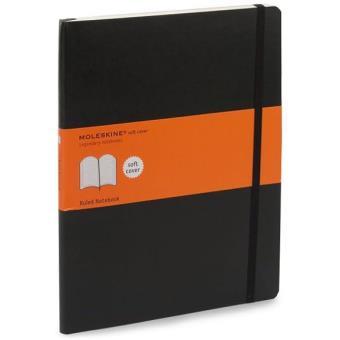 Moleskine: Caderno Soft Pautado XL Preto