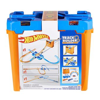 Hot Wheels Track with Ramps Deluxe Stunt Box