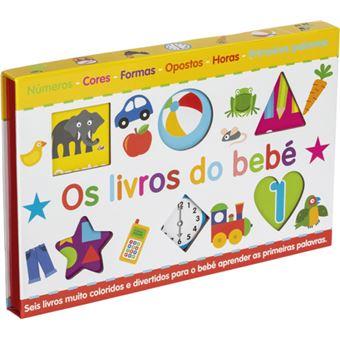 Os Livros do Bebé - 6 Livros
