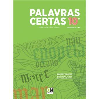 Palavras Certas - Português 10º Ano - Manual do Aluno