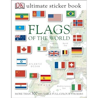 Flags of the world ultimate sticker