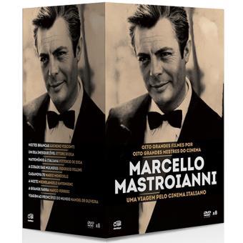 Pack Marcello Mastroianni - Coleção 8 Filmes (DVD)