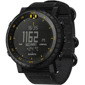 Relógio Desporto Suunto Core - Black Yellow TX