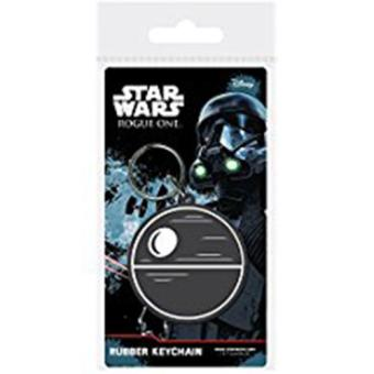 Keyring Rubber-Star Wars-Death Star
