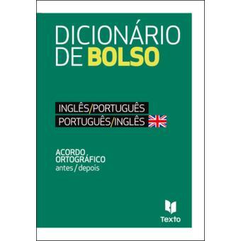 Dicionário de Bolso Inglês/Português - Português/Inglês