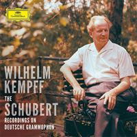 Kempff: The Complete Schubert Solo Recordings on Deutsche Grammophon - 9CD + Blu-ray