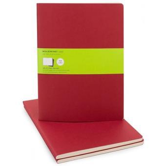Moleskine: Caderno Liso XL Vermelho