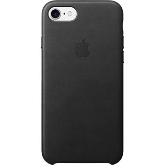 Capa Pele Apple para iPhone 7 (Preto)