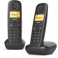 Telefone sem Fios Gigaset A270 Duo - Preto