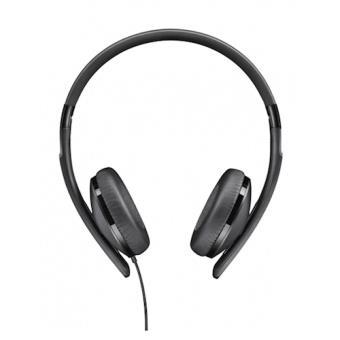 Sennheiser HD 2.20 S Fita de cabeça Binaural Com fios Preto auricular para telemóvel