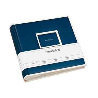 Álbum Para Fotografias Semikolon Pockets Pequeno Azul Escuro - 200 Fotografias