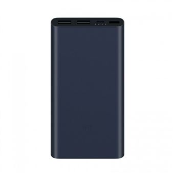 Power Bank Xiaomi Mi 2S 10000mAh - Preto