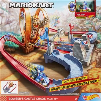 Hot Wheels Pista do Mario Kart Castelo Bowser