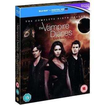 The Vampire Diaries - Season 6 - 4Blu-ray Importação