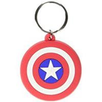 Keyring Rubber-Capt.America-Shield