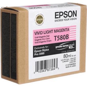Epson Tinteiro T580B00 Magenta Claro