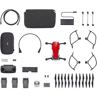 Drone DJI Mavic Air Combo - Flame Red