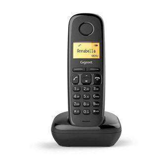 Telefone Fixo Gigaset A170 C - Preto
