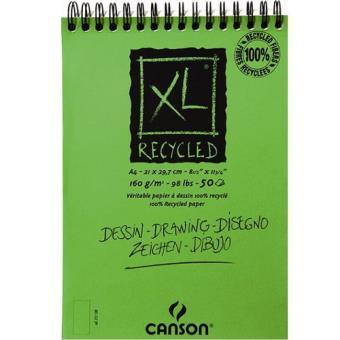 Bloco de Desenho Canson XL Recycled A4 160g