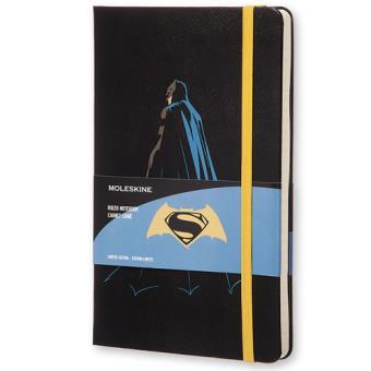 Caderno Pautado Moleskine Batman Grande