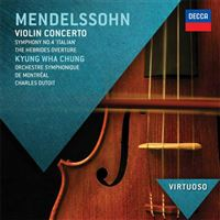 Mendelssohn: Violin Concerto & Italian Symphonies - CD