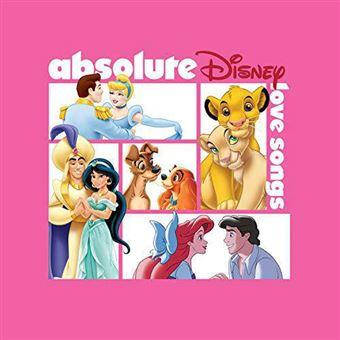 Absolute Disney: Love Songs - CD