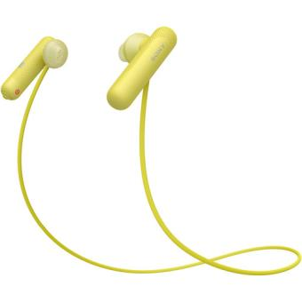 Auriculares Bluetooth Sony WI-SP500 - Amarelo