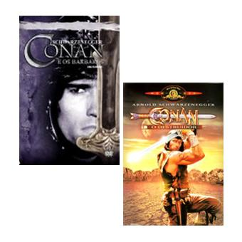 Pack Conan the Barbarian + Conan the Destroyer - DVD