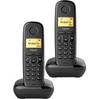 Telefone Sem Fios Gigaset A170 Duo - Preto