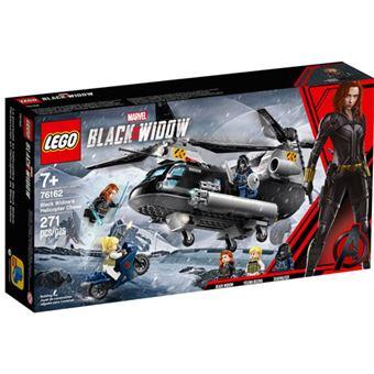 LEGO Marvel Super Heroes 76162 Perseguição de Helicóptero de Black Widow