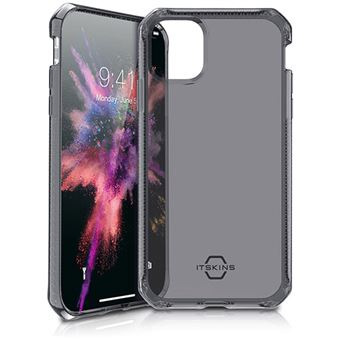 Capa Itskins Spectrum Clear para Apple iPhone 11 - PretoCapa Itskins Spectrum Clear para Apple iPhone 11 - Preto