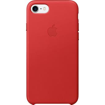 Capa Pele Apple para iPhone 7 (Product)Red