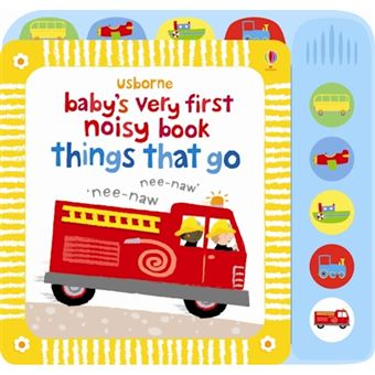 Baby's very first noisy book things