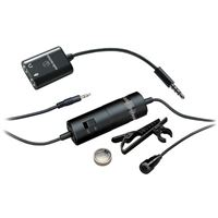 Microfone de Lapela Condensador Audio-Technica ATR3350iS - Para Telemovel