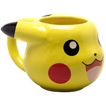 Caneca 3D Pokémon: Pikachu