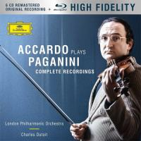 Accardo Plays Paganini: The Complete Recordings - 6CD + Blu-ray