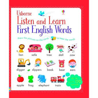 Usborne Listen and Learn: First English Words