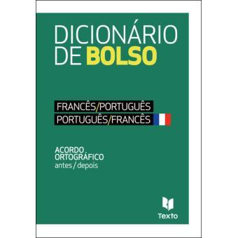 Dicionário de Bolso Francês/Português - Português/Francês